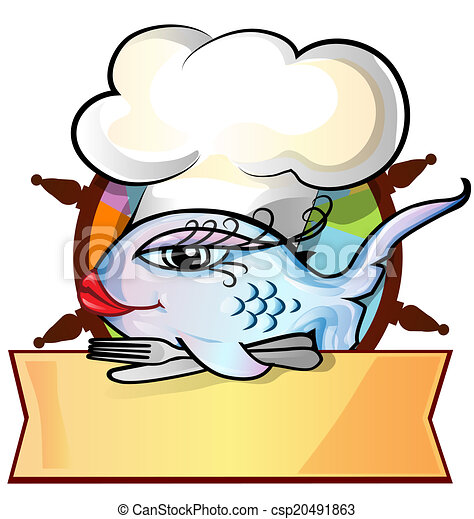 gouvernail, menu, fish, restaurant - csp20491863
