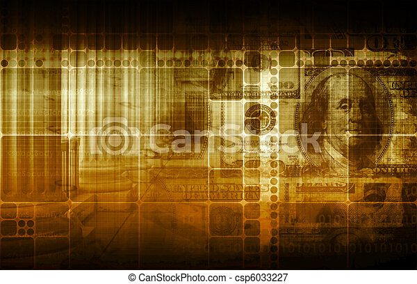 Government and Economy - csp6033227