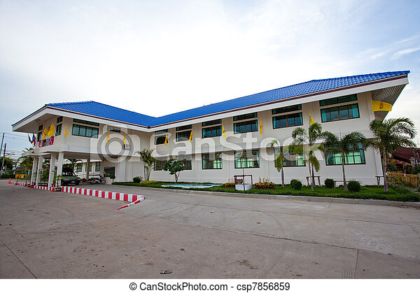 government building - csp7856859