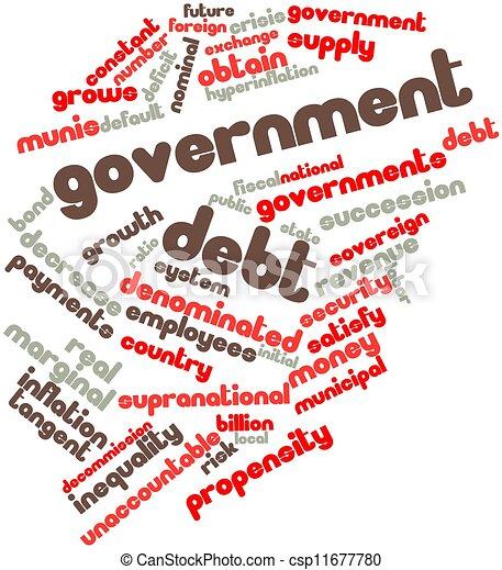 Government debt - csp11677780