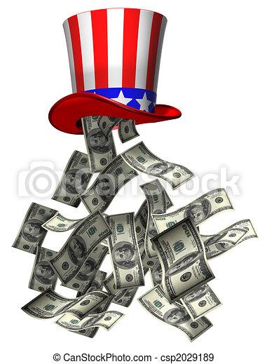 Government money - csp2029189