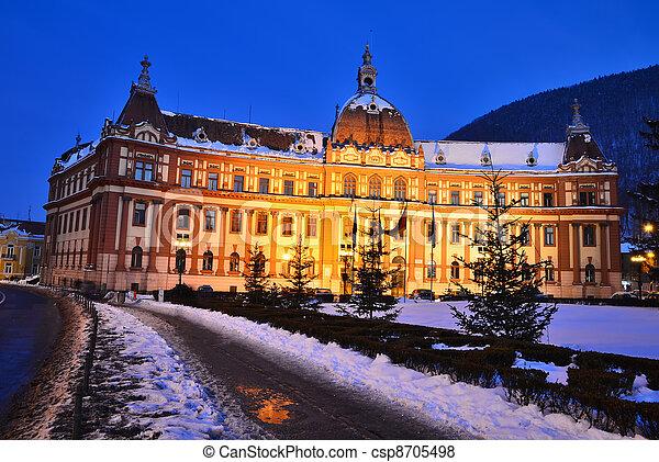 Government of Brasov county, Transylvania, Romania - csp8705498