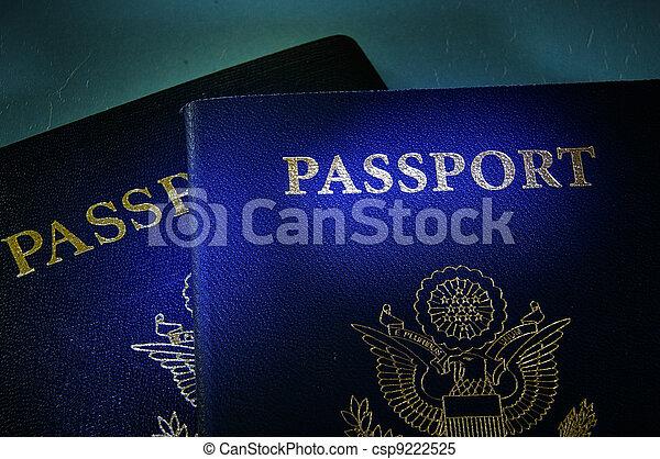 government passports - csp9222525