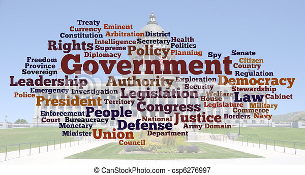 Government Word Cloud Photo - csp6276997