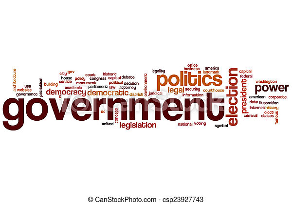 Government word cloud - csp23927743