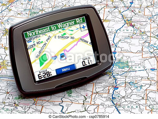 GPS or Map - csp0785914