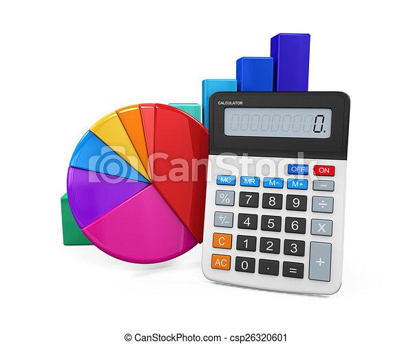 Calculador con gráfico y gráfico - csp26320601