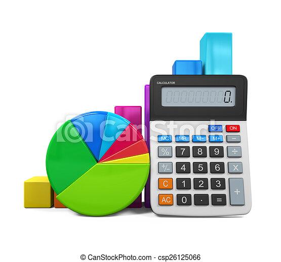 Calculador con gráfico y gráfico - csp26125066