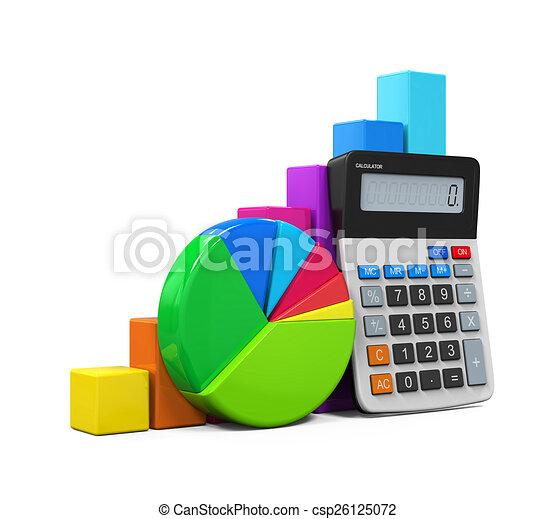 Calculador con gráfico y gráfico - csp26125072