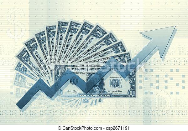 Grafico de negocios - csp2671191