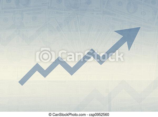Grafico de negocios - csp0952560
