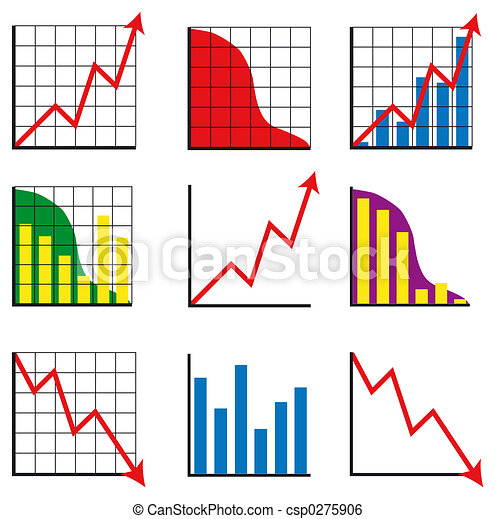gráficos, negócio - csp0275906