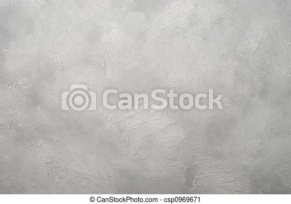grå, artistisk, stuck - csp0969671