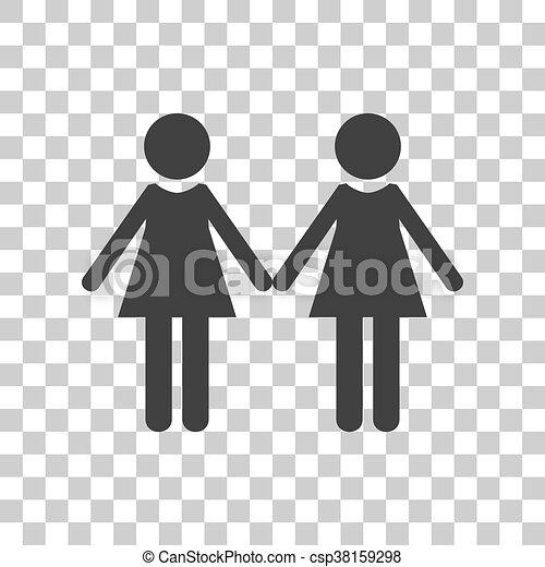 sort og kinesisk lesbisk