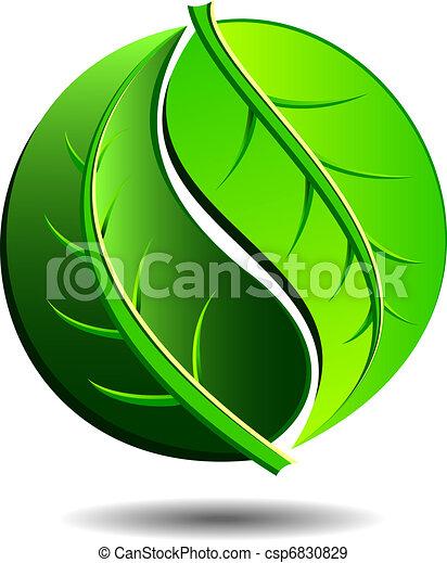 grön, ikon - csp6830829