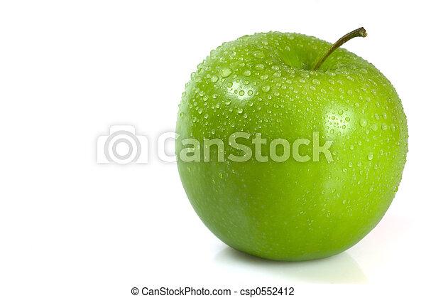 grönt äpple - csp0552412