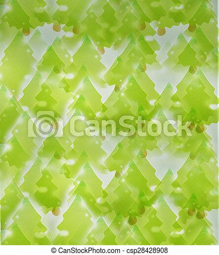 grüne bäume, hintergrund - csp28428908