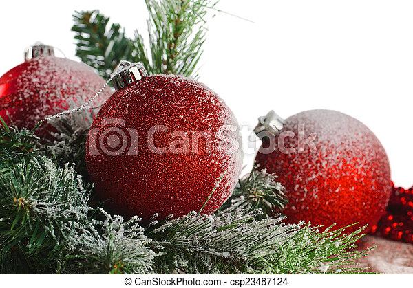 Kugel Für Tannenbaum.Grüne Kugel Tannenbaum Weihnachten Zweig