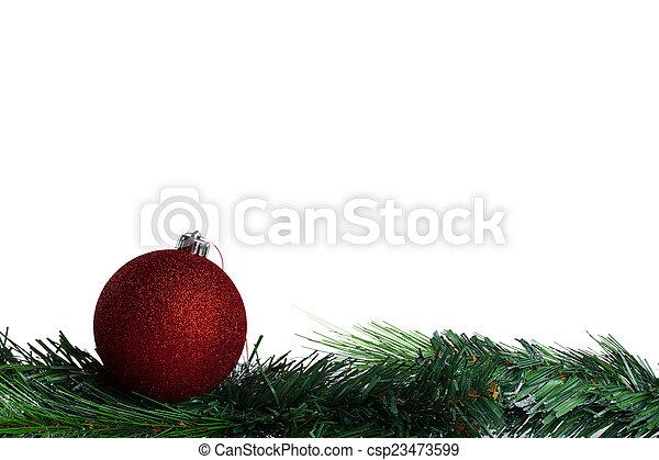 Tannenbaum Grün.Grüne Kugel Tannenbaum Weihnachten Zweig