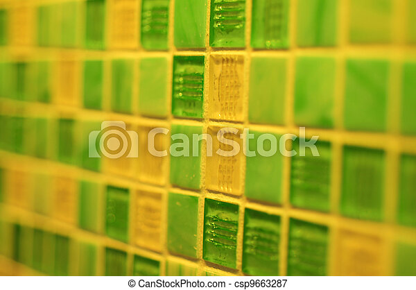 grüner hintergrund, beschaffenheit - csp9663287