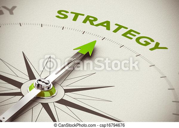 grünes geschäft, strategie - csp16794676