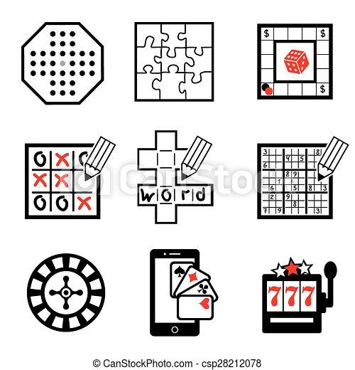 gra, 2, część, ikony - csp28212078
