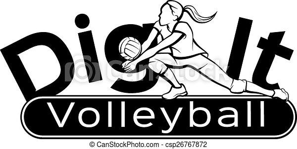 graben, ihm, volleyball - csp26767872