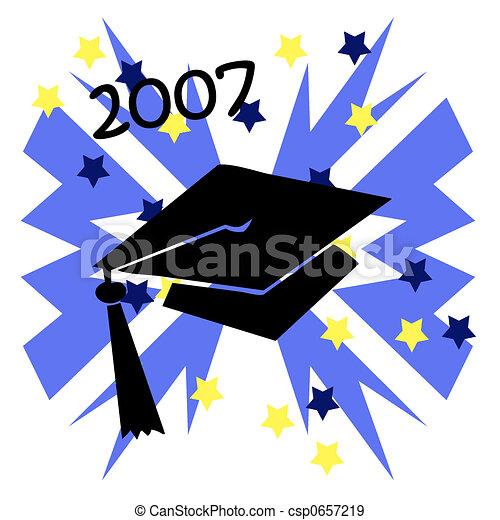 Grad Cap - csp0657219
