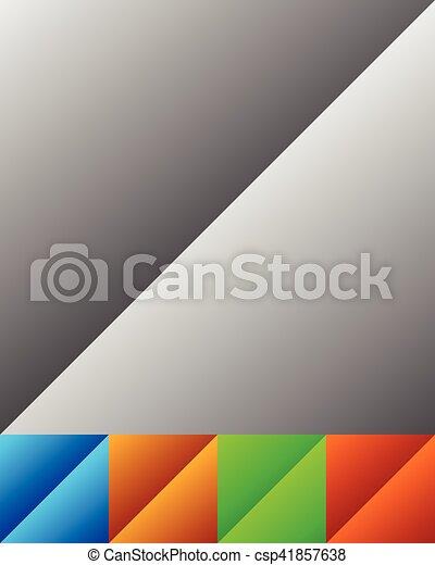 gradient, bouton, diagonal, /, effet, fond, bannière - csp41857638