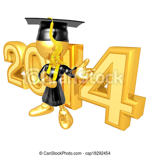 graduado, ano - csp18292454