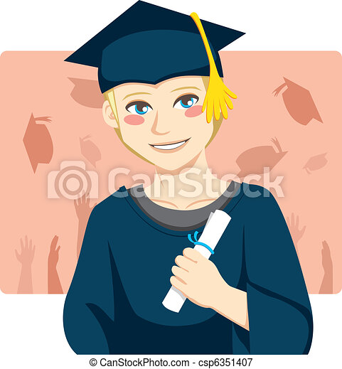 Graduate Boy - csp6351407