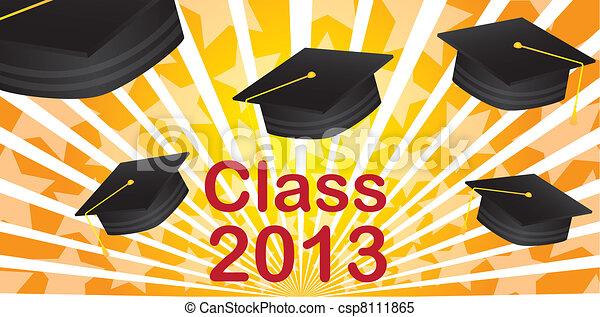 graduate hat - csp8111865