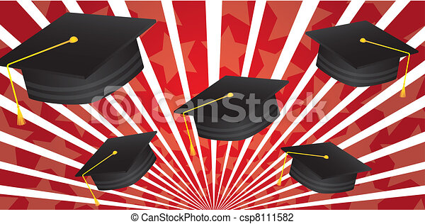 graduate hat - csp8111582