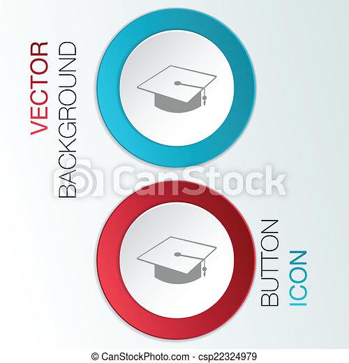 graduate hat. - csp22324979