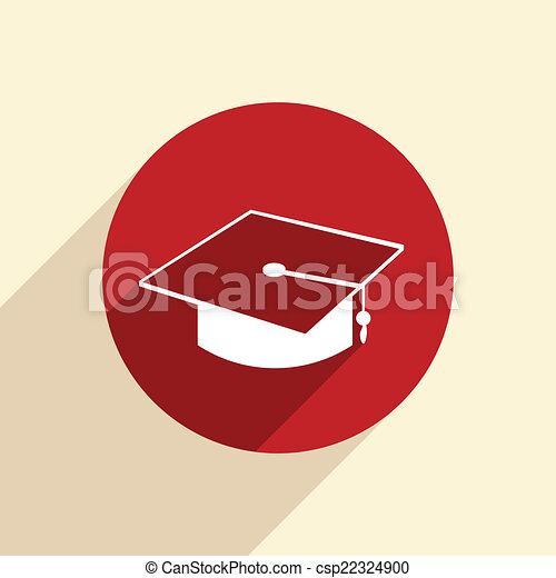 graduate hat. - csp22324900