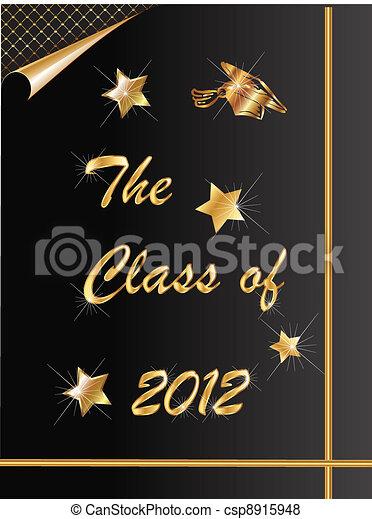 Graduation 2012 - csp8915948