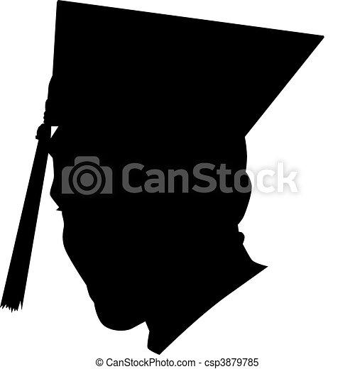 Graduation Cap - csp3879785