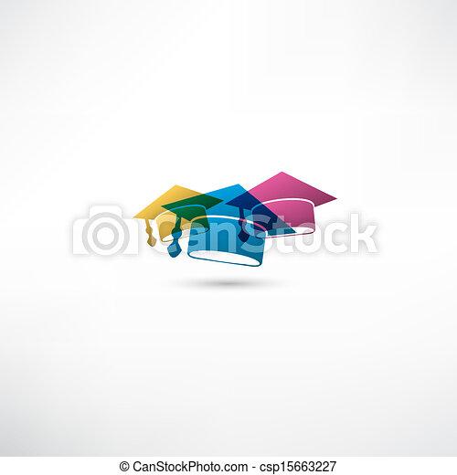 Graduation cap - csp15663227