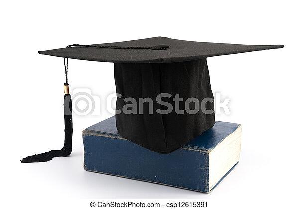 Graduation cap - csp12615391