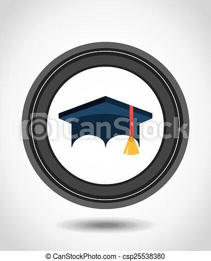 graduation concept - csp25538380