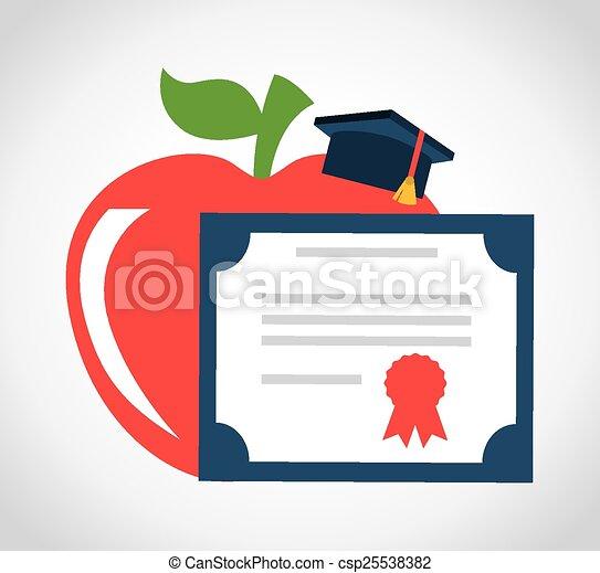 graduation concept - csp25538382