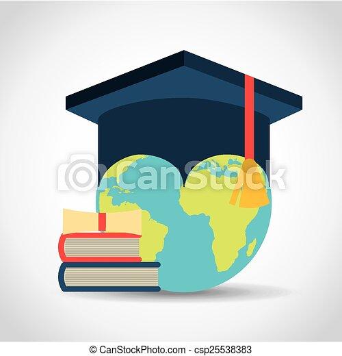 graduation concept - csp25538383