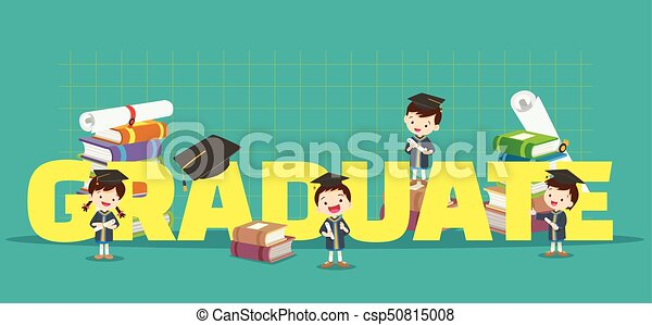 graduation concept illustration - csp50815008