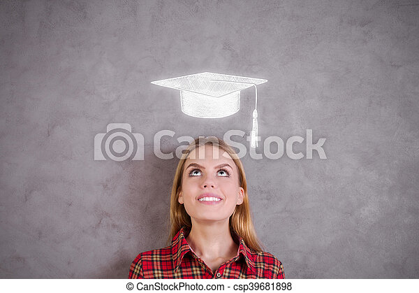 Graduation concept - csp39681898