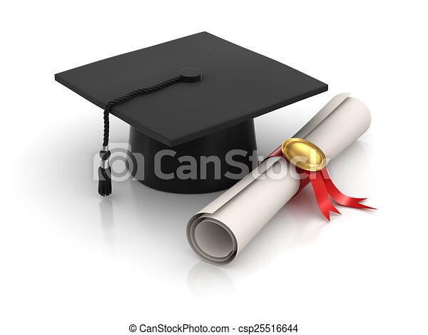 Graduation - csp25516644