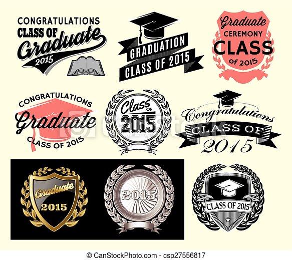 Graduation sector set for class of 2015 - csp27556817