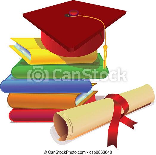 graduation with study - csp0863840