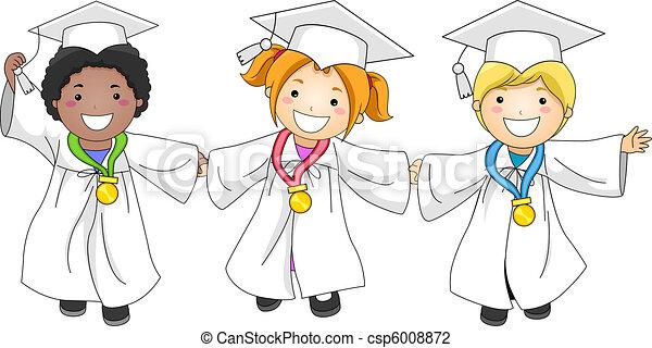 graduazione, medaglie - csp6008872