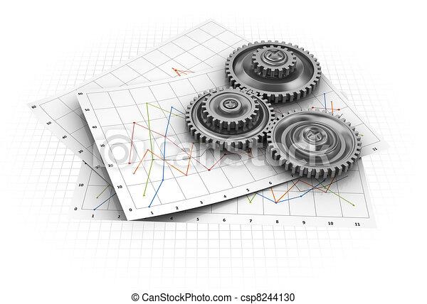 graf, průmyslový - csp8244130