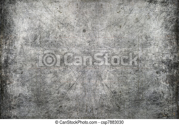 graffiato, metallo, struttura - csp7883030